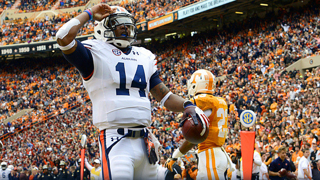 Nick Marshall Tre Mason And Auburn Run Over Tennessee