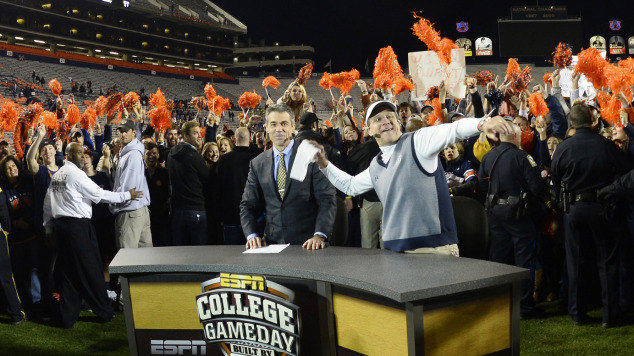 Celebration Done Auburn Now Working On Sec Title Game