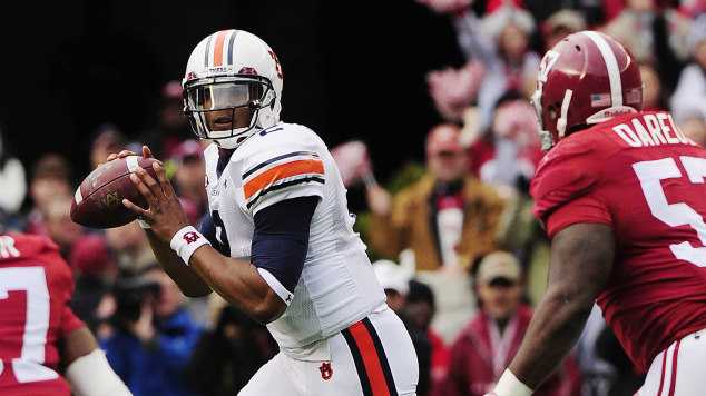 a5cce047358 Cam Newton Cam Newton led Auburn to the biggest comeback in Iron Bowl ...