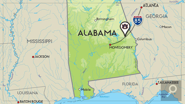 Florida Map Directions.Maps Directions Auburn University Athletics