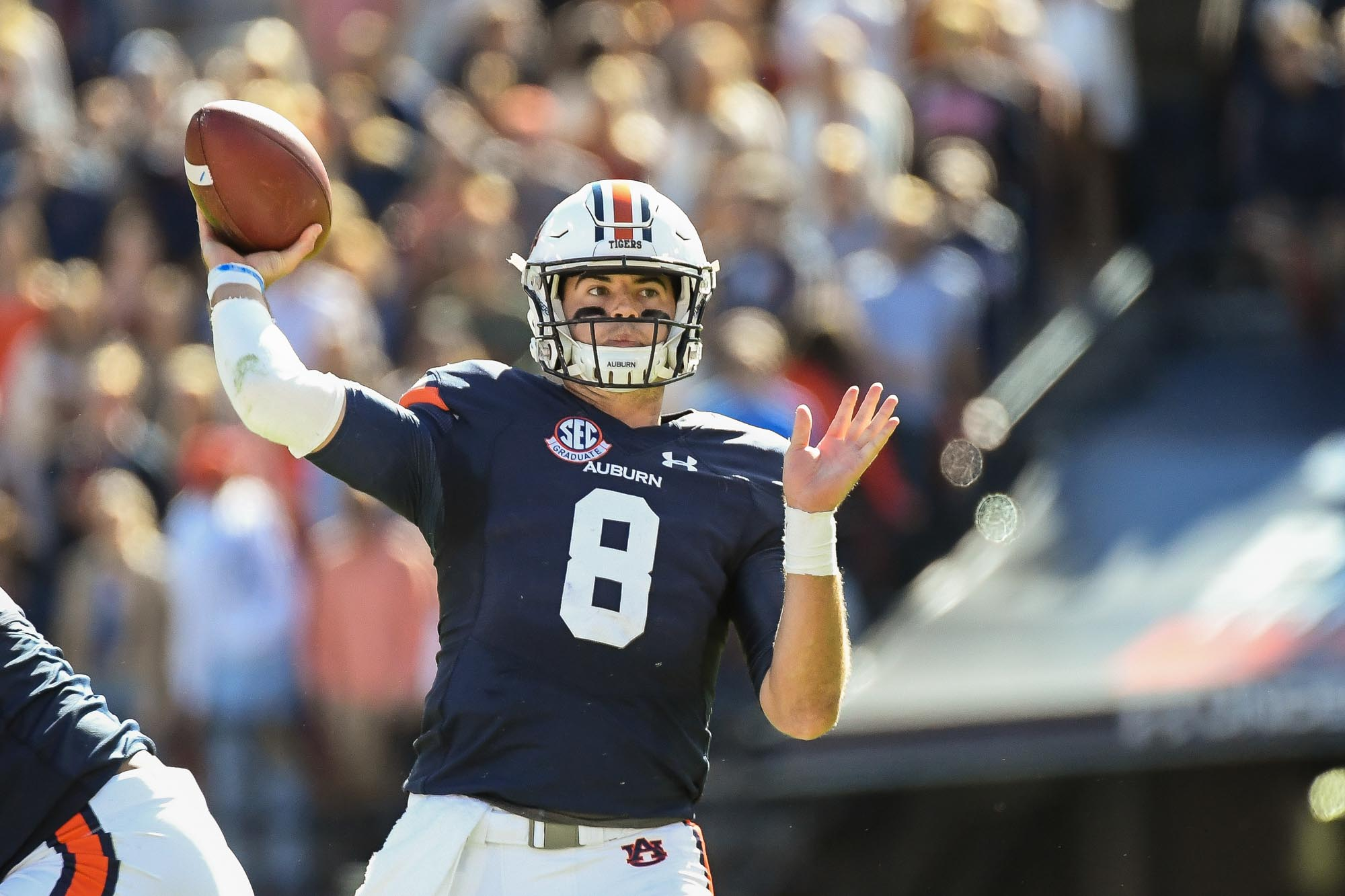Auburn Qb Jarrett Stidham Declares Early For Nfl Draft Auburn University Athletics