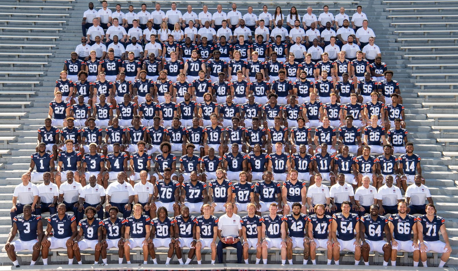 2019 Football Roster Auburn University Athletics
