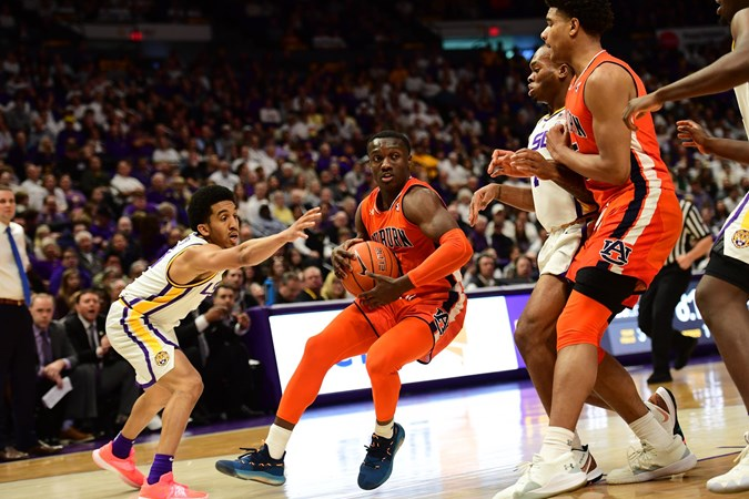 Auburn Tigers NCAA Basketball: The defeat snapped a 3-game winning streak for the Tigers.