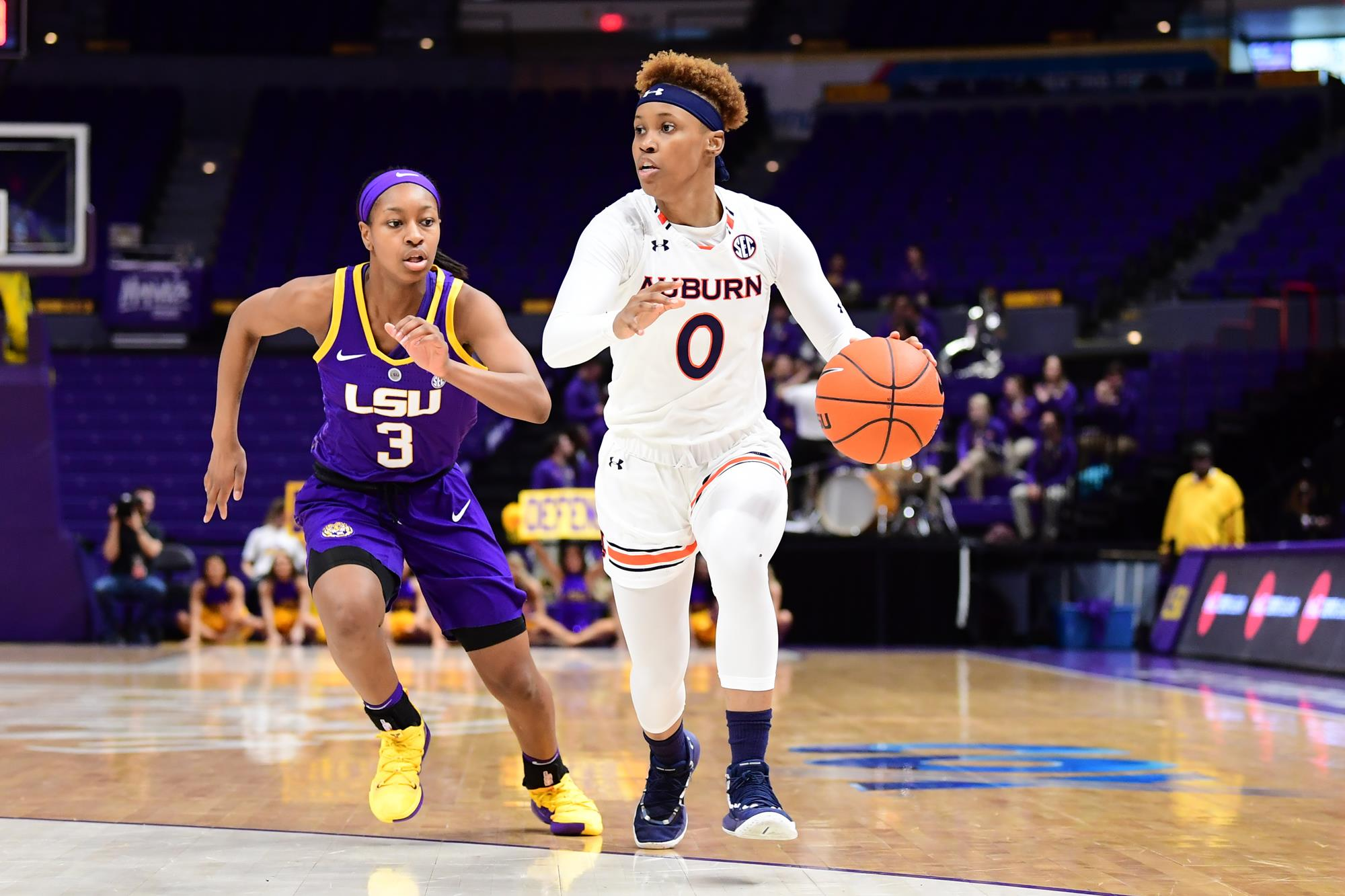 Auburn Closes Out Regular Season With 56 46 Win At Lsu