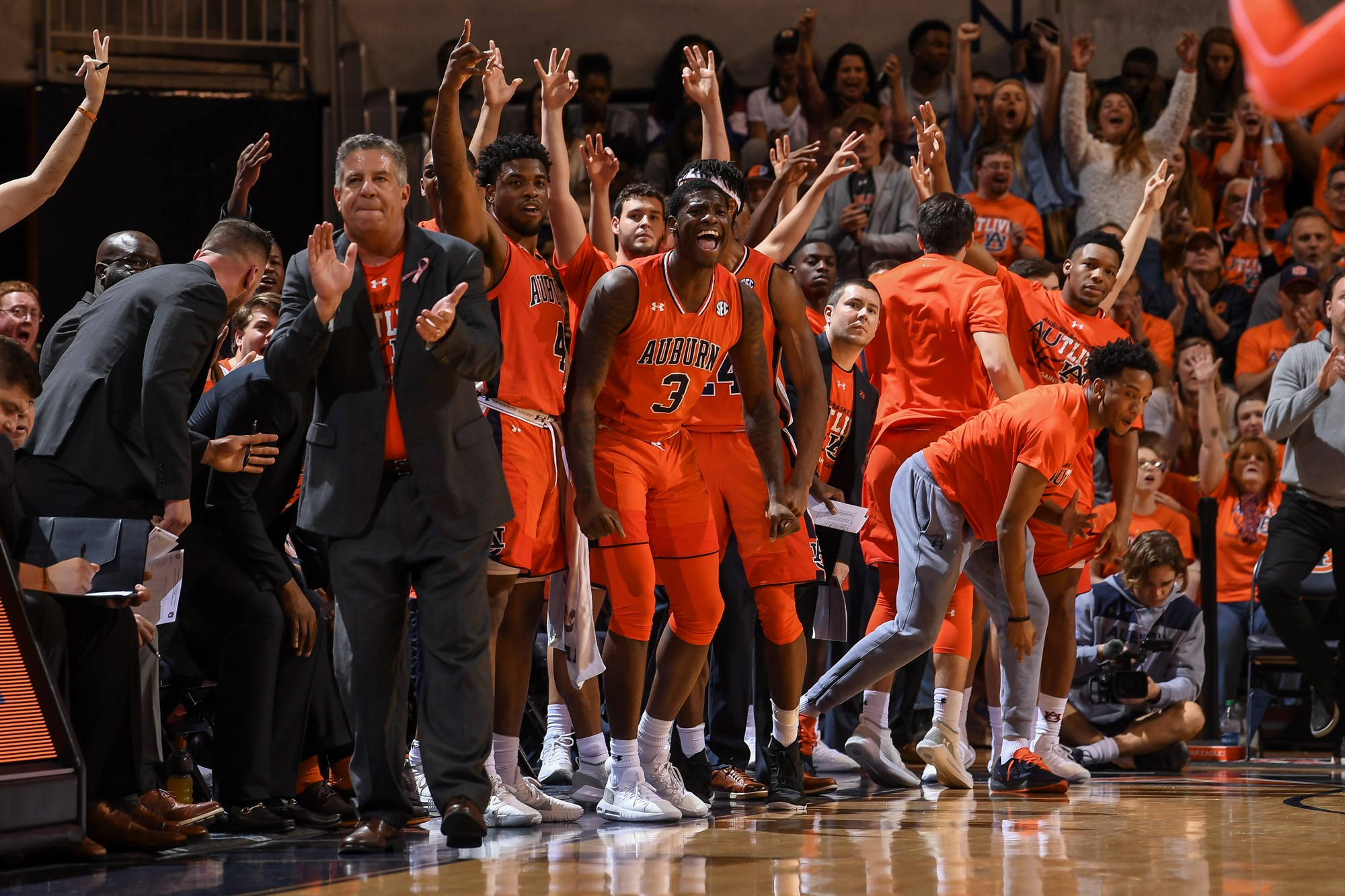 Bruce Pearl It Ll Take A Great Effort For Auburn To Sweep