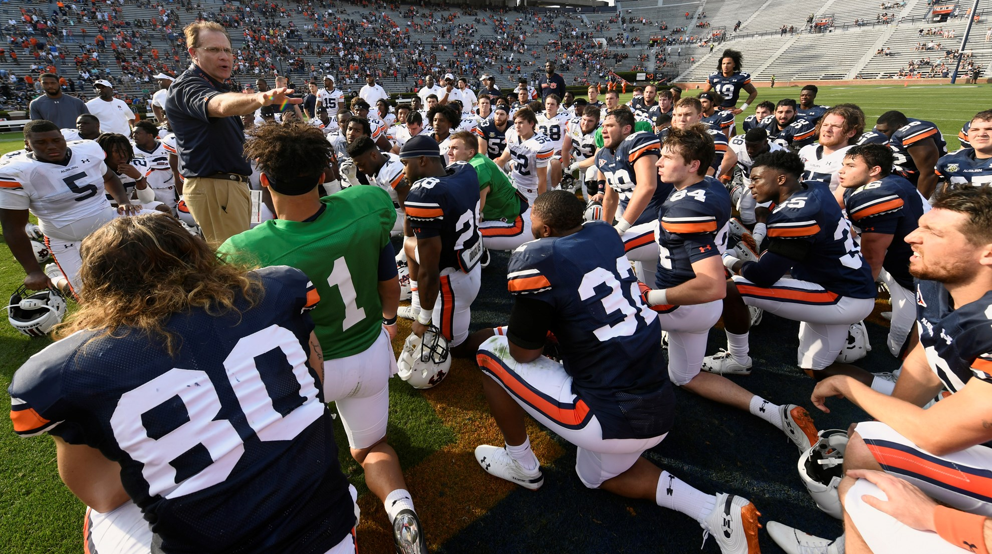 Five Touchdown Passes Highlight Auburn S A Day Auburn