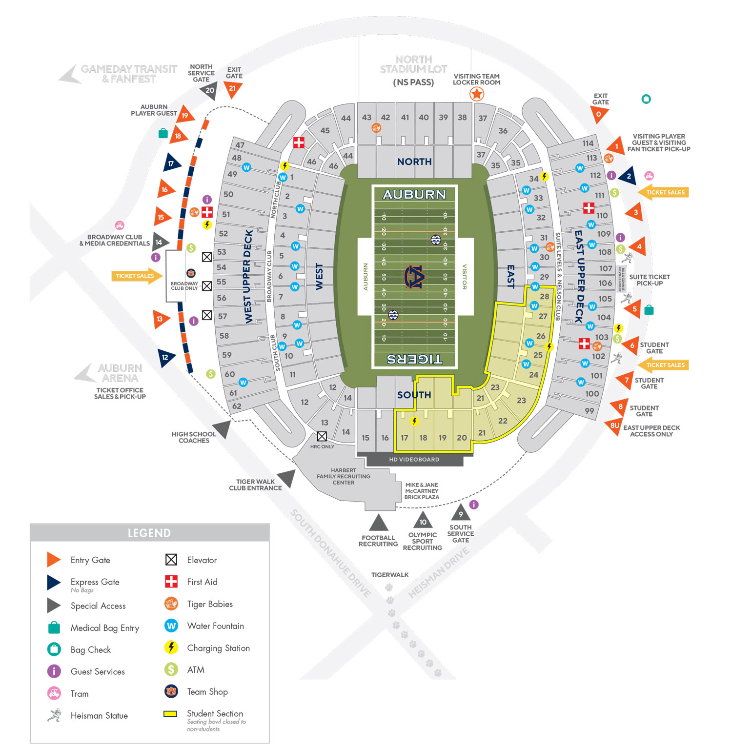 Football Gameday Fan Guide - Auburn University Athletics