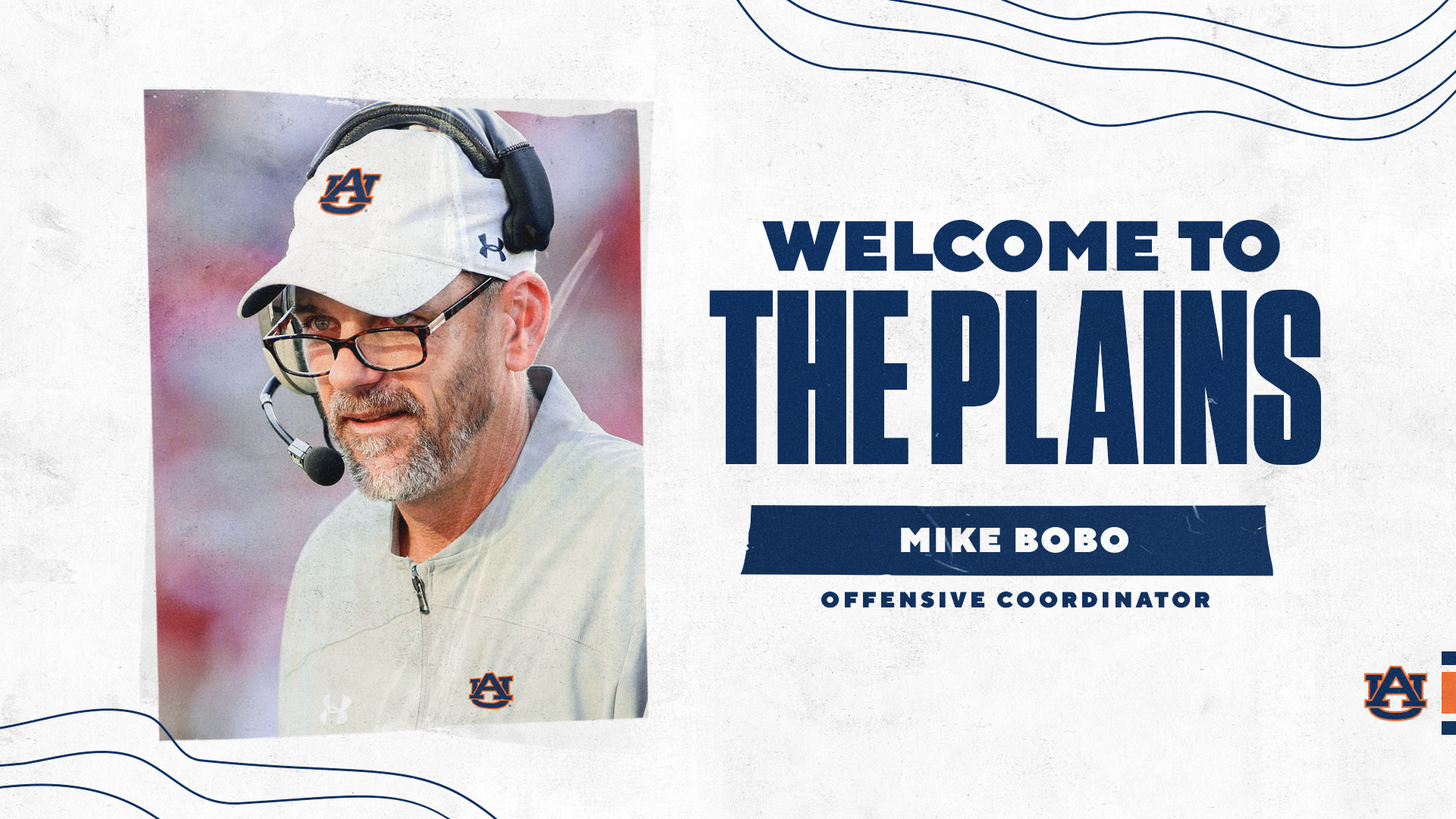 Welcome to The Plains Mike Bobo - Offensive Coordinator